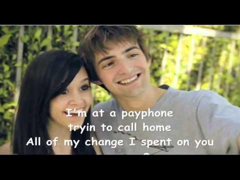 Payphone - (cover) Megan Nicole and Dave Days Lyrics
