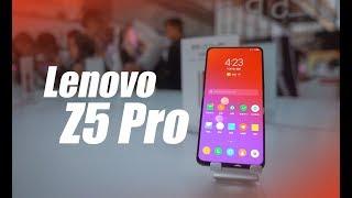 First Impression of the Lenovo Z5 Pro