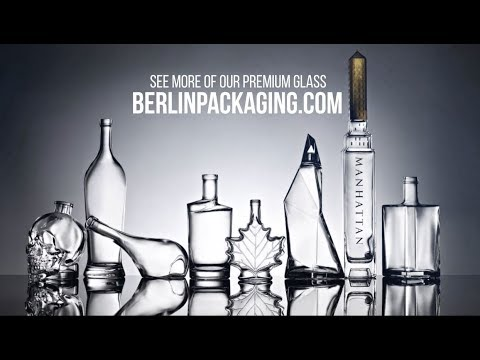 Premium Glass Packaging from Bruni Glass, a Division of Berlin