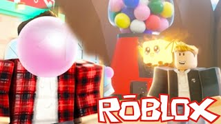 Bubble Gum Simulator - Blowing THE BIGGEST BUBBLE in Roblox