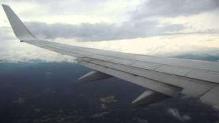 Ryanair B738 landing Girona ( LEGE/GRO )