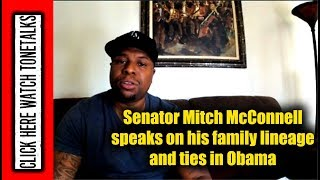 Senator Mitch McConnell speaks on his family lineage and ties in Obama