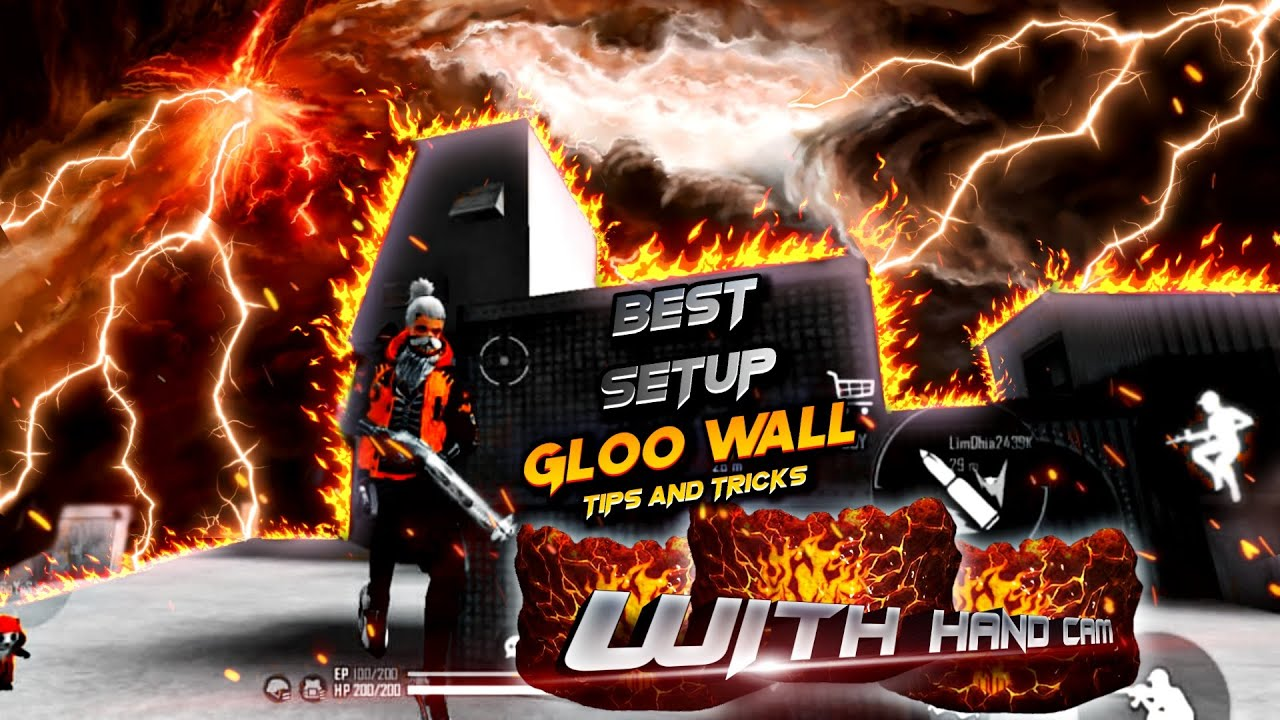 Best setup gloo wall  tips and tricks    Gsx Gamers    garena free fire 🔥