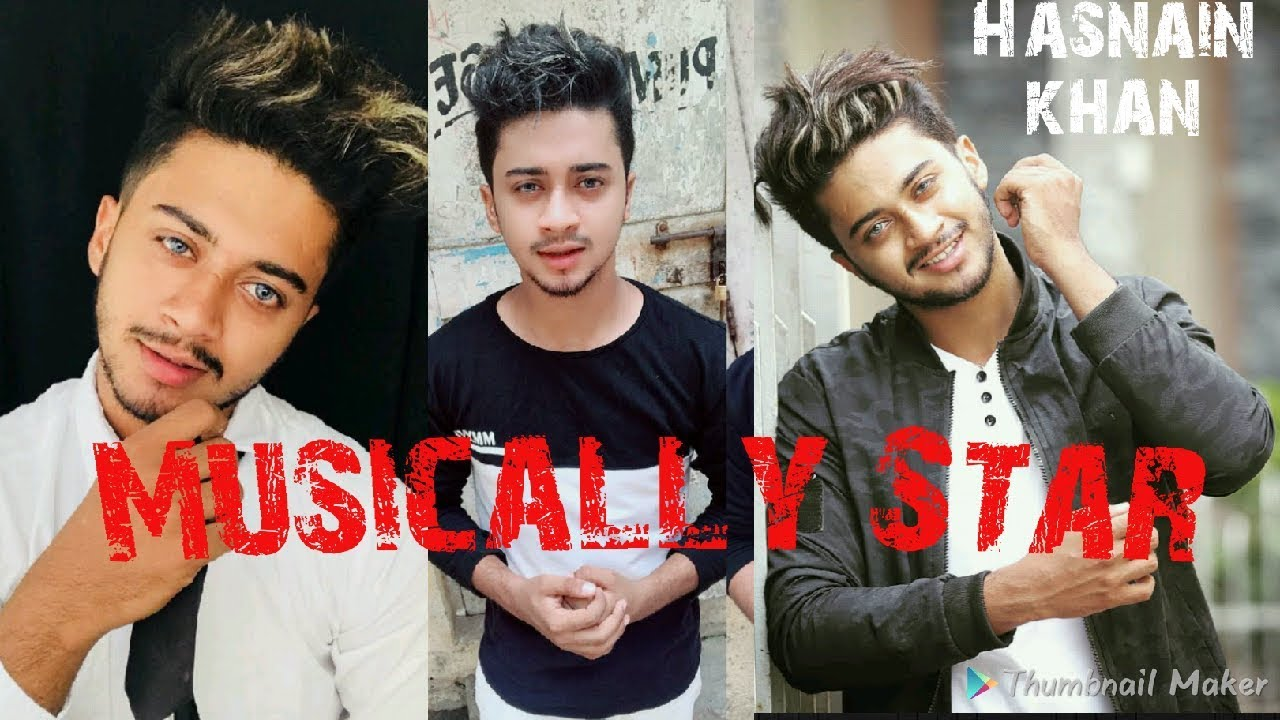 Musically Stars By Hasnain Khan Awesome Musically Youtube