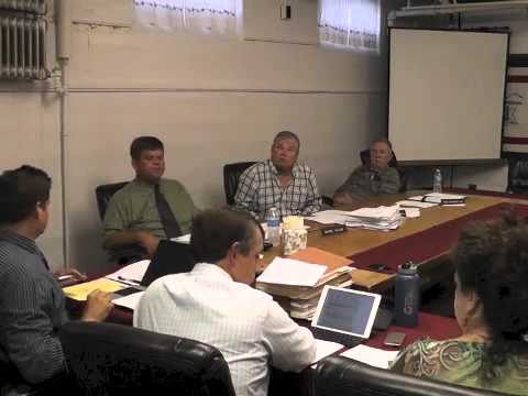 Ticonderoga Town Board Meeting  9-11-14