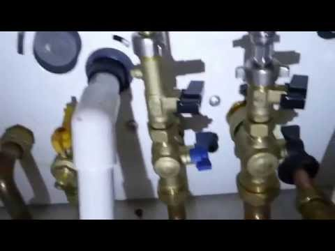 Combi boiler not working? an easy fix,using the refill pressure loop.