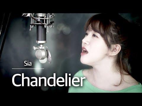 (이어폰추천) 또다시 뜨는곡👍Chandelier(샹들리에) 커버 - SIA(시아) | 버블디아