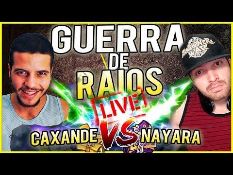 GUERRA DE RAIOS - MONAGUA VS SLOTH - CAXANDE vs NAYARA