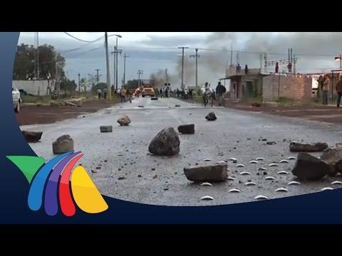 Habitantes de Xaltocan bloquean cruce de tren por violencia   Noticias del Estado de México