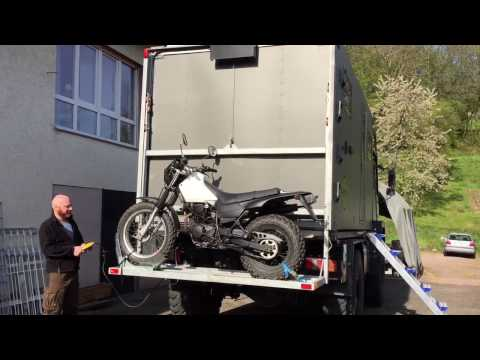 Build an expedition truck: Motorcycle carrier