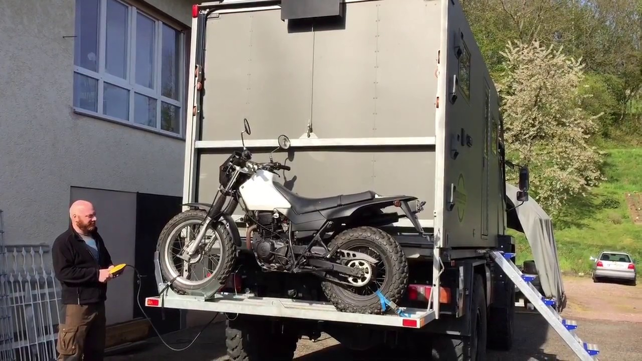 Build An Expedition Truck Motorcycle Carrier Youtube