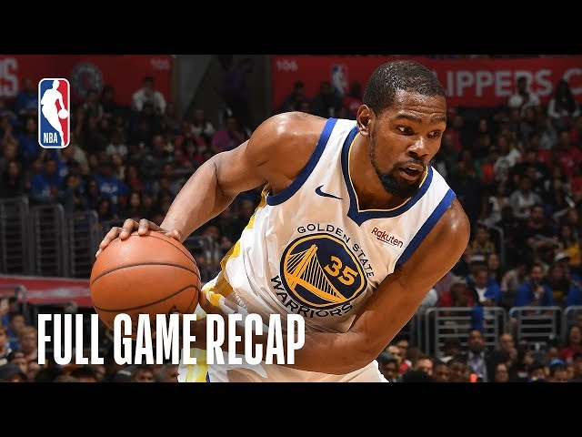 WARRIORS vs CLIPPERS | KD & Klay Heat Up in LA | Game 4