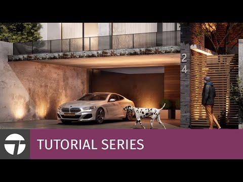 Making-Of Modern Villa in Twinmotion