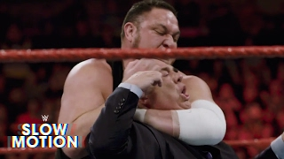 Chilling slowmotion footage of Samoa Joe and Paul Heymans confrontation Exclusive June 6 2017 Watch Samoa Joe become more ravenous by the second in slowmotion footage of his chilling attack on Brock Lesnars advocate More ACTION on WWE ...