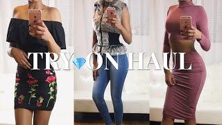 2017 Clothes Try-on Haul ♥ CLOTHING HAUL | Fashion Nova x BeautyByCarla