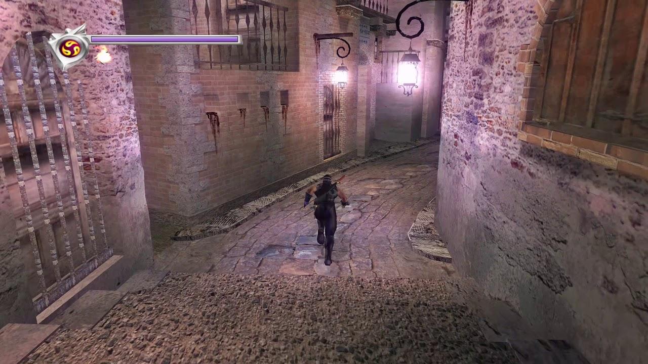 Ninja Gaiden Black Xbox One X 4k Monastery Youtube