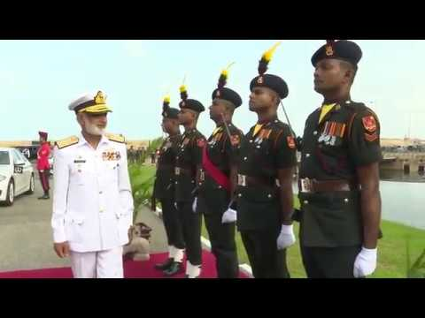 Pakistan Chief of Naval Staff, Now in Sri Lanka Calls on Commander of the Army