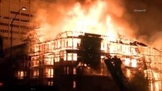 Incendie de 3 tours au coeur de Los Angeles