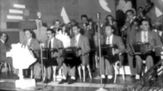 """""""DERROTADO"""" Orq Carlos Di Sarli con Roberto """"Chocho"""" Florio"""