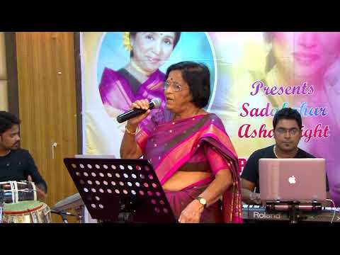 Reshmachya Reghani Lal Kalya by Kunda Gokhake at Jashn Asha Special