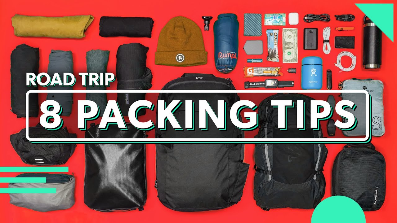 8 Minimalist Packing Tips For Road Trips