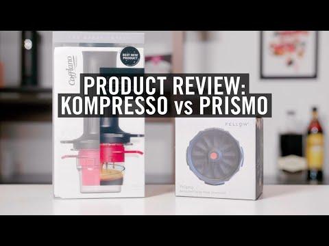 Review: Fellow Prismo Vs Cafflano Kompresso
