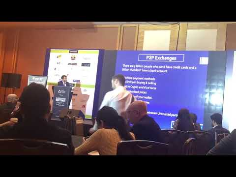Kishore M Ceo of Future1exchange speaking at GBF Blockchain Event @MBS Singapore