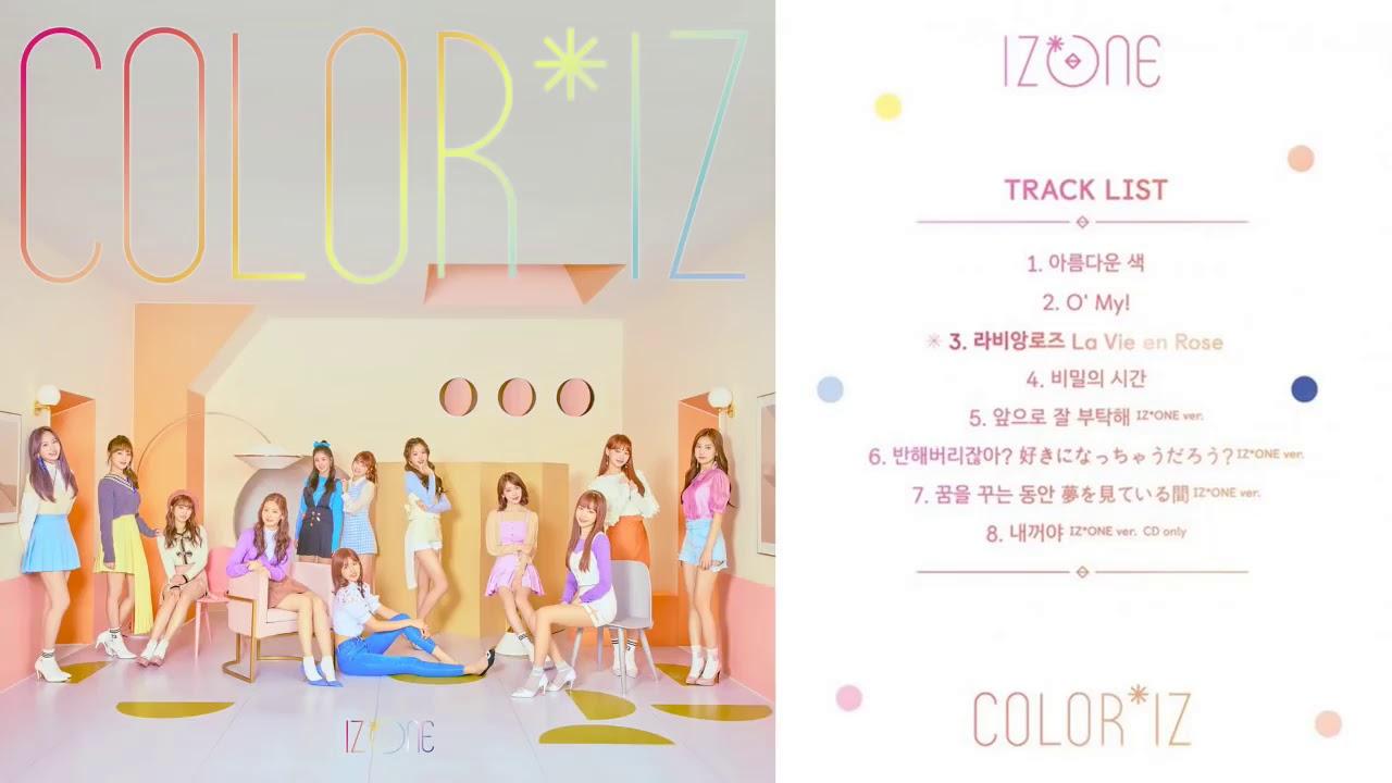 [ALBUM] IZ*ONE - COLOR*IZ | FIRST ALBUM