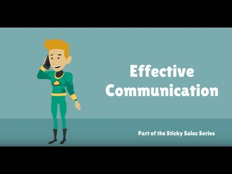 Free Sales Training Video: Effective Communication