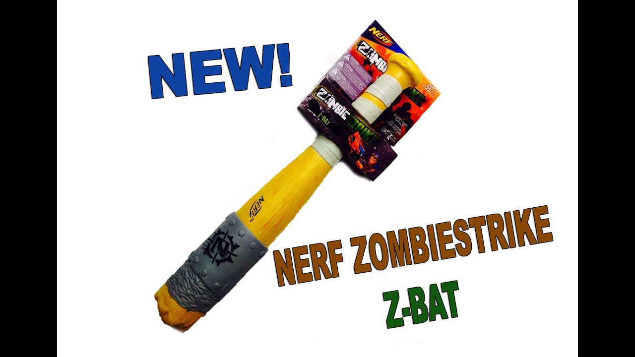Rob-Andre's & Will-Haik's Nerf Machete & Nerf Z-Bat! - YouTube