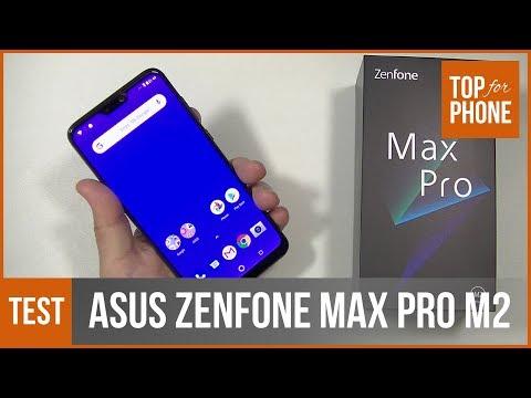 ASUS ZENFONE MAX PRO M2 - Test Par TopForPhone