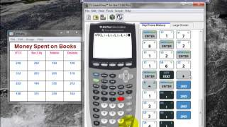 Using the TI 84 Calculator to Perform an ANOVA test.