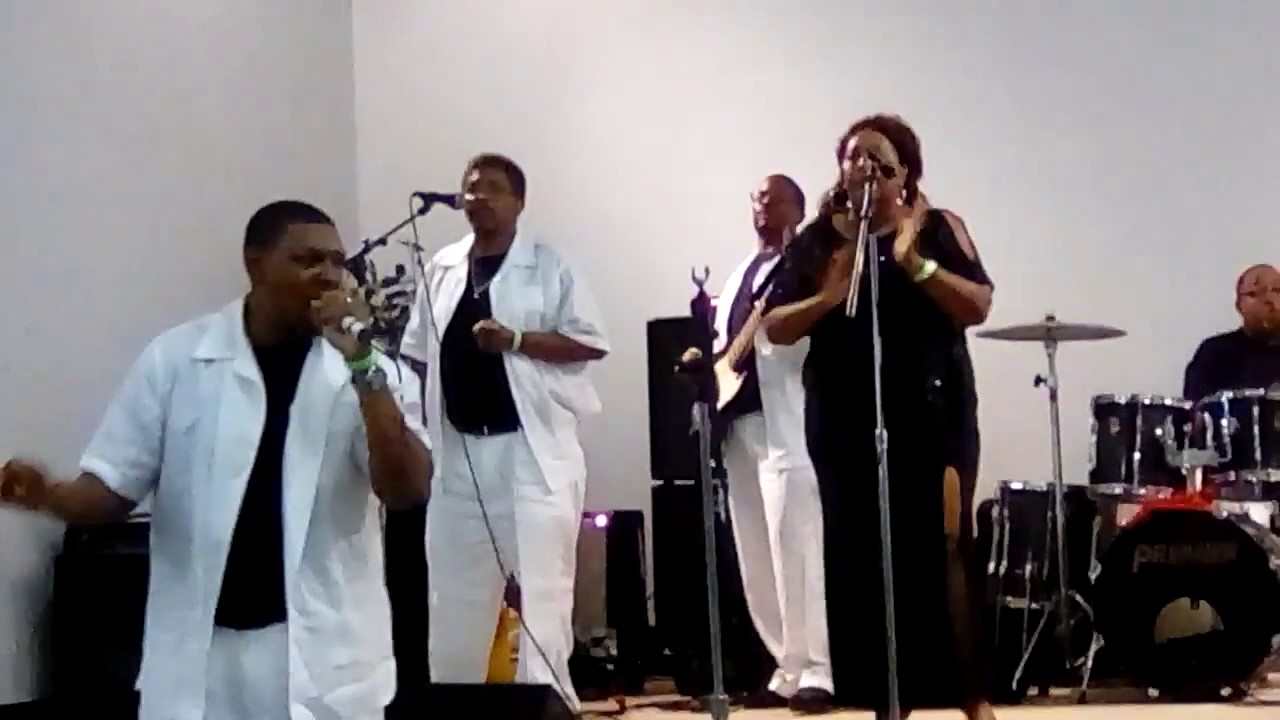Wings of faith singing The Devil don't like me no more and Jesus is a friend