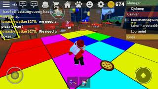Play roblox workt at pizza place part two