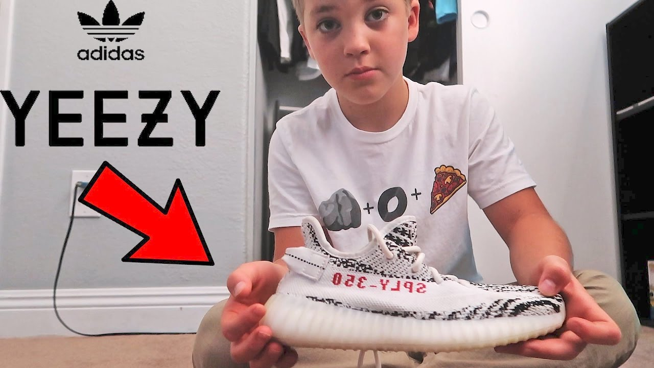 835005577e05b ADIDAS YEEZYS REVIEW (ROCCOS FIRST SOLO VLOG) - YouTube