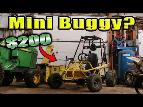 NEW $200 Mini RAIL BUGGY PROJECT!