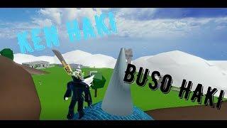 Roblox   HOW TO TRAIN KEN HAKI AND BUSO HAKI IN BLOX PIECE   Blox Piece