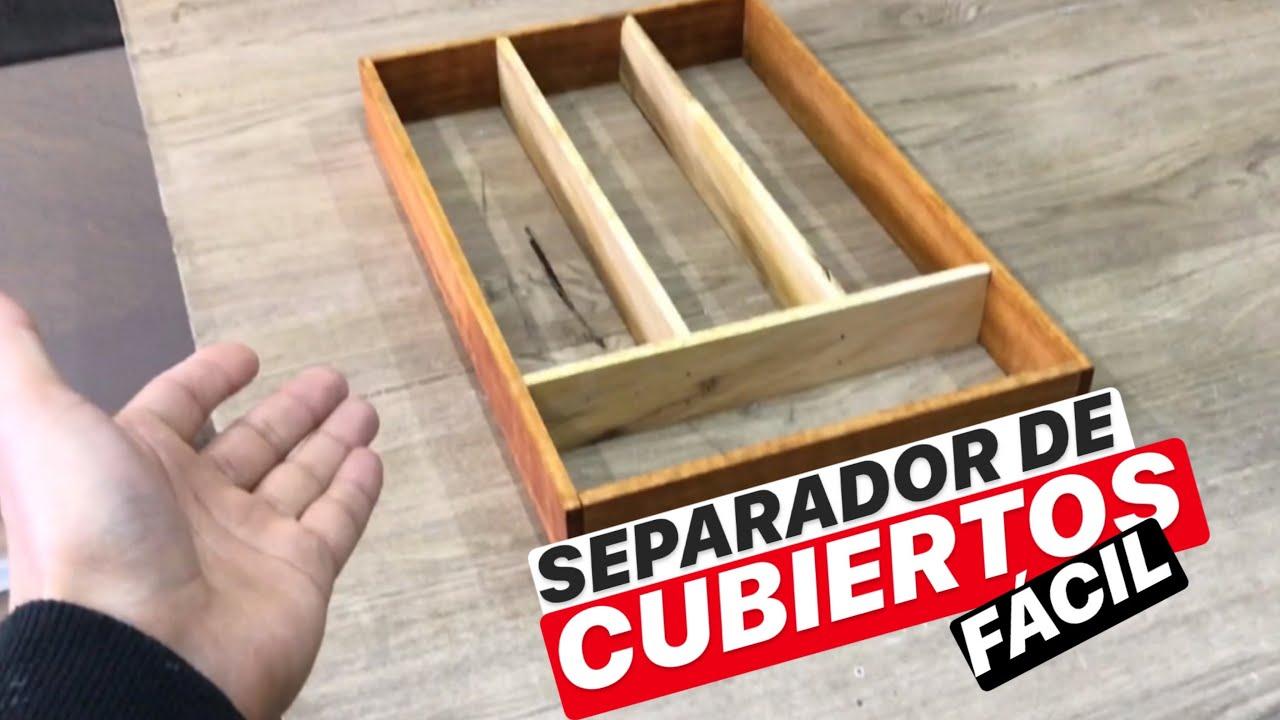 SEPARADOR DE CUBIERTOS (FACIL BRO) - PROYECTO MUEBLE