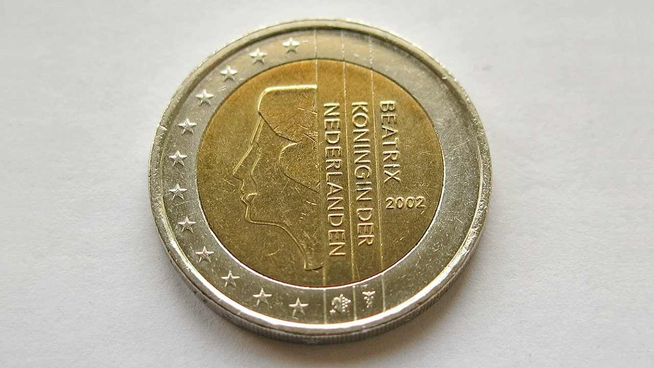 2 euro coin netherlands 2002 youtube. Black Bedroom Furniture Sets. Home Design Ideas
