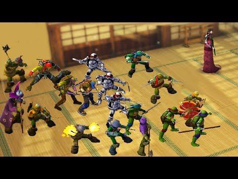 Teenage Mutant Ninja Turtles: Legends - ALL TURTLES VS SPLINTER #TMNT