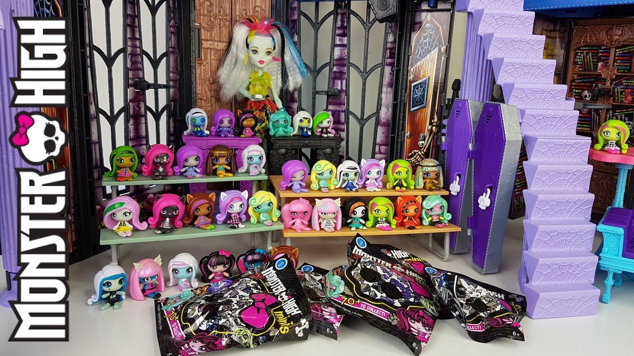 Monster High Minis Blind Bag Opening Youtube