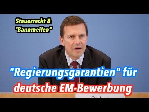 """Bundesregierung gibt """"Garantien"""" für deutsche EM-Bewerbung 2024"""