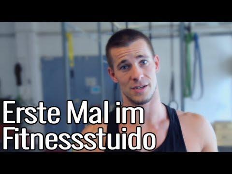 Erstes Mal im Fitnessstudio | Fitness für Anfänger Ansage!