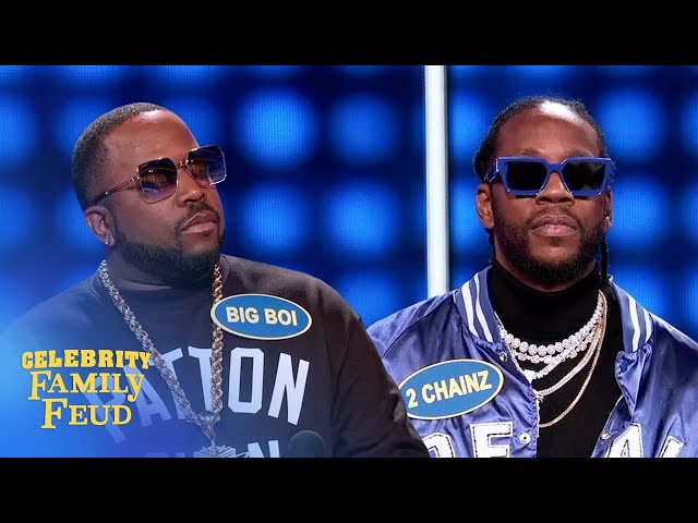 One answer left! Can Big Boi and his team come back? | Celebrity Family Feud