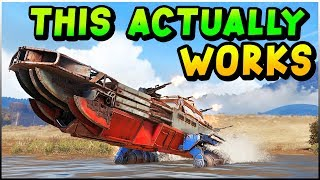 Crossout - This Sweet Boat Build Actually Works... & Other Epic Things (Crossout Gameplay)