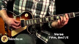 Thin Lizzy -The Boys Are Back In Town Guitar Lesson