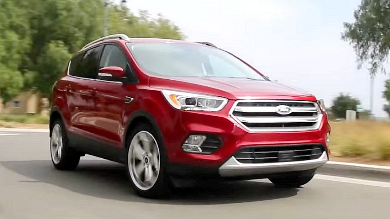 2017 ford escape review and road test youtube