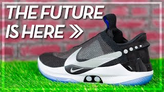 So This Exists.... Nike's Self-Lacing Shoe Review (Nike Adapt BB)
