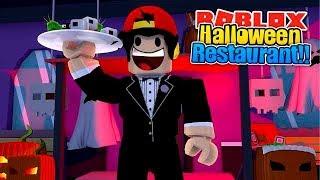 ROBLOX - THE BEST HALLOWEEN RESTAURANT!!