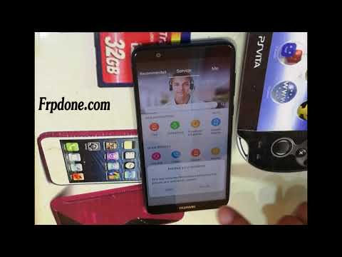 Frp bypass Huawei P smart FIG LX1 SECURITY AVRIL Mai remove account done
